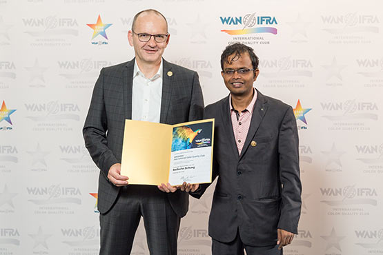 WAN IFRA Color Quality Club 2018-2020