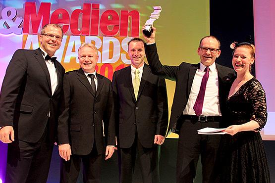 Druck und Medien Award:  Zeitungsdrucker 2012