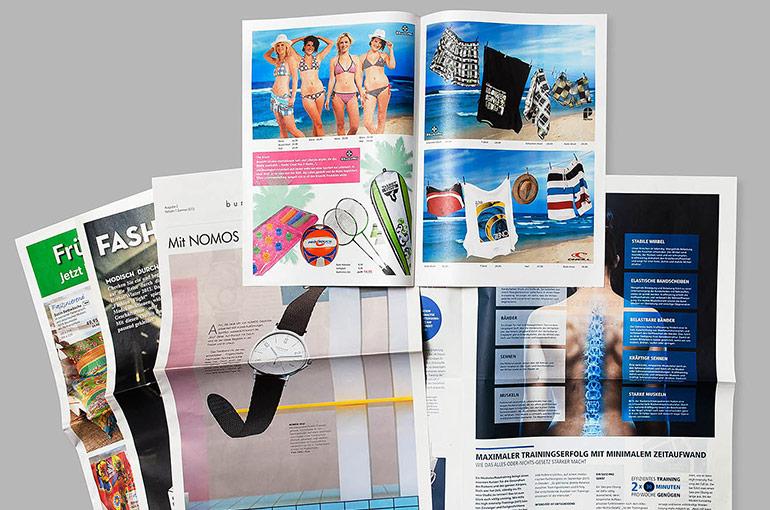 Prospekte und Werbebeilagen wahlweise mit Heftung und/oder Beschnitt - Bild 2